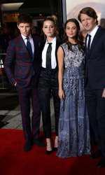 Eddie Redmayne, Amber Heard si Alicia Vikander