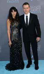 Matt Damon si Luciana Barroso
