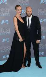 Rosie Huntington Whiteley si Jason Statham