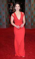 Emilia Clarke - Rochie Victoria Beckham