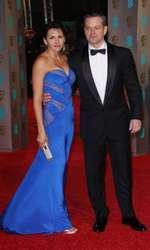 Matt Damon si sotia lui, Luciana