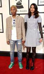 Pharrell Williams si Helen Lasichanh