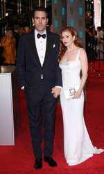 Sacha Baron Cohen si Isla Fisher