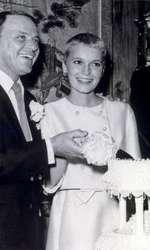 Frank Sinatra și Mia Farrow