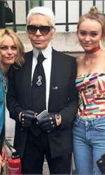 Vanessa Paradis, Karl Lagerfeld si Lily Rose