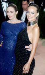 Emily Blunt si Olivia Wilde