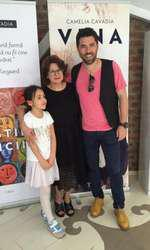 Camelia Cavadia, Alex Dima si fiica lui, Sara