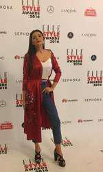 Albertina Ionescu – Rochie Laura Hîncu și jeans