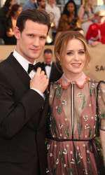 - Matt Smith si Claire Foy