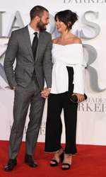 Jamie Dornan și Amelia Warner, soția lui
