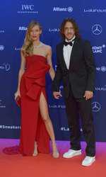 Carlos Puyol si Vanessa