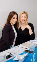 Hellen Pillini (La Mer) și Sonia Argint