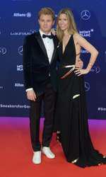 Nico Rosberg si Vivian Sibold