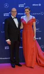 Printul Albert si Printesa Charlene