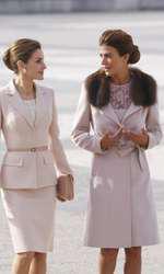 Regina Letizia a Spaniei si Prima Doamna a Argentinei Juliana Awada
