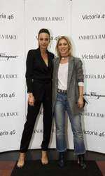 Andreea Raicu si Sorina Fredholm