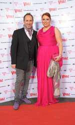 Oana Roman și Laurent Tourette la Petrecerea VIVA! 2012