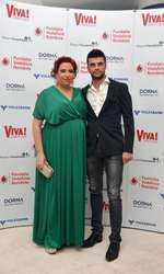 Oana Roman si Marius Elisei la Petrecerea VIVA! 2014