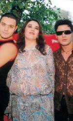 Oana Roman, Cornel Păsat și Mihai Mitoșeru, petrecerea Viva! 2002