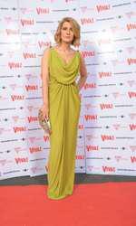 Alessandra Stoicescu 2012 (rochie Mirela Diaconu, sandale Jimmy Choo, plic vintage) 2012