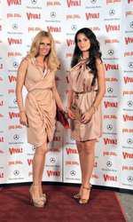 Andreea Bănică și Anca Serea 2010
