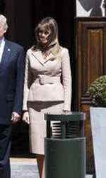 Melania Trump la summitul NATO de la Bruxelles