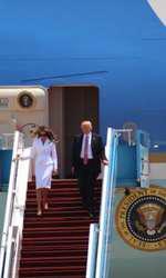 Melania Trump în Tel Aviv, Israel