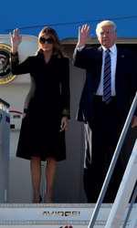 Melania Trump la Roma, Italia
