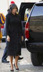 Melania Trump la Vatican