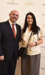 Lior Bebera (General Manager Hotel Intercontinental) si Amalia Nastase