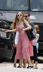 Tobey Maguire și Jennifer Meyer în Malibu