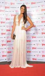 Antonia la petrecerea Viva! din 2012 intr-o rochie Maria Lucia Hohan