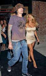 Pamela alături de Tommy Lee