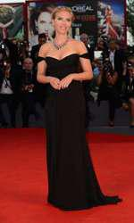 Scarlet Johannson la Festivalul de Film de la Veneția