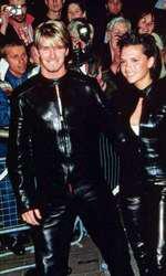 David și Victoria în 1999