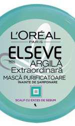 Mască purificatoare împotriva excesului de sebum, L'Oréal Paris, Elseve Argilă Extraordinară, 30,65 lei