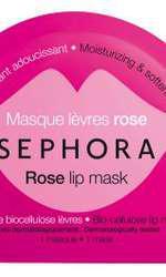 Mască Sephora Rose Lip Mask pentru buze, hidratare și catifelare, 18 lei (disponibilă în Sephora)