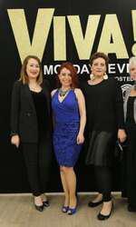 Andreea Tanislav (BottegaVerde.ro), Ileana Petrache, Laura Merdescu si Adriana Irimescu (Ringier)