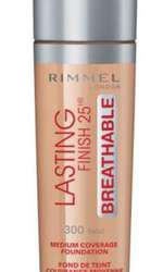Fond de ten, Rimmel London, Lasting Finish 25H Breathable, 47 lei