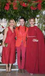 Andreea Esca, Stephan Pelger și Amalia Enache