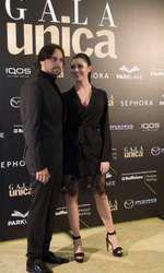 Denis Ștefan și soția