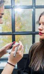 Ana Condeescu a testat un nou ruj
