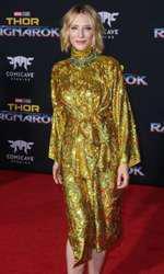 "Cate Blanchett - outfit Gucci, premiera filmului ""Thor: Ragnarok"""