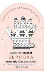 Mască nutritivă și reparatoare pentru mâini, Sephora, Avocado Skin Care Gloves, 18 lei