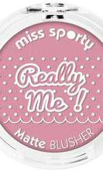 Blush mat, Miss Sporty, Really Me, 15,3 lei