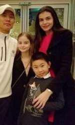 Mr. Pink, Irina, Monica și fiul lui Mr. Pink