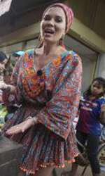 Gina Pistol a mâncat tarantule
