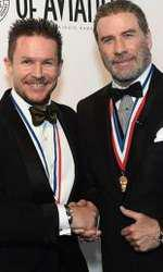 Felix Baumgartner și John Travolta