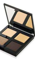 Paletă de farduri, The Body Shop, Down to Earth Quad Eye Palette Gold, 99 lei