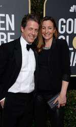 Hugh Grant și Anna Eberstein